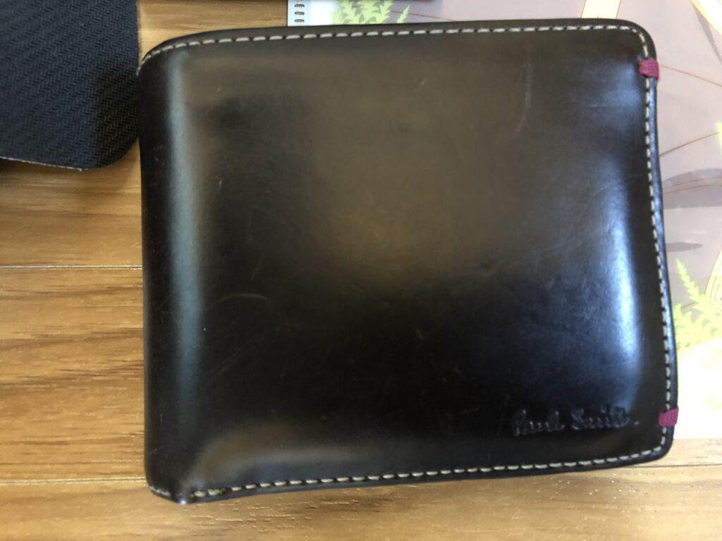 カバンの中身財布